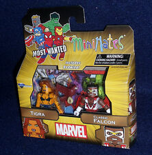 Marvel MiniMates Series 69 TIGRA & FALCON Action Figure 2 PK