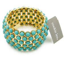 Cookie Lee Jewelry Stretch Bracelet in Gold