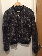 Versus Versace Plinth & Greca Print Bomber jacket size UK 40/it 50/Large £ 550