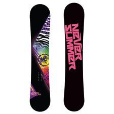 NEVER SUMMER Pandora 140 Snowboard Handmade in USA Allround All Mountain Board