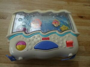 Fisher price, nursery cot music centre, fishes in sea