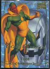 2016 Marvel Masterpieces Gold Foil Signature Trading Card #66 Vision