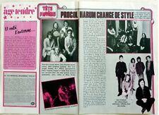 PROCOL HARUM : 2  pages 1975  FRENCH CLIPPING / Coupure de Presse