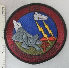 F-22 RAPTOR COMBINED TEST FORCE US AIR FORCE PATCH Vintage USAF ORIGINAL