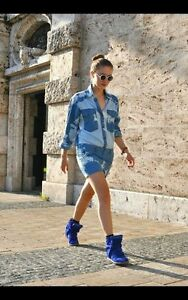 ISABEL MARANT Tie Dye Mini Shirt Dress