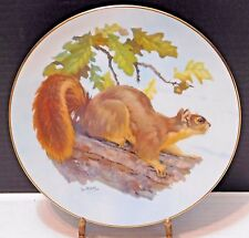 "Nature's Heritage ""Fox Squirrel"" Lee Le Blanc Plate VI, Ltd  Ed #2,939 of 14,500"