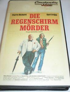 Der Regenschirmmörder - VHS/Komödie/Pierre Richard/Gert Fröbe/Constantin