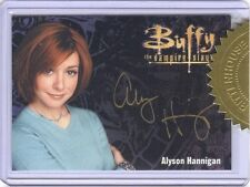 Buffy The Vampire Slayer Ultimate Collector's Set 3 Alyson Hannigan Autograph!