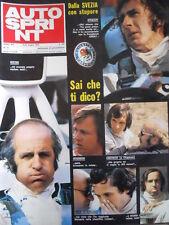 Autosprint n°25 1973 Ronnie Peterson Hulme Ickx Nanni Galli  [P47]