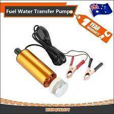12v Aluminium Submersible Car Engine Transfer Pump Fuel Diesel Water Oil AU ua