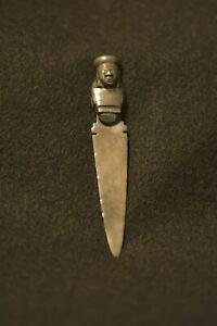 Sterling Silver Vintage Peru Colmenares A Mano Letter Opener AT3058