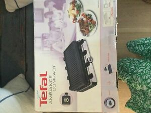 Used BOXED: Tefal RE4588 - raclette