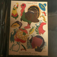 Rare Over 135 Play Mate Paper Doll Cut Outs People Animals Costumes FULL BOOK