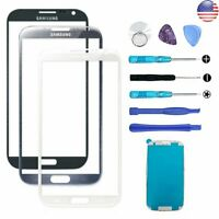 For Samsung Note 2 Front Touch Screen Glass Lens Replacement Repair Tools Light