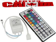 44 Key IR REMOTE CONTROLLER/3528 5050 RGB LED STRIP LIGHTS COLOUR CHANGING/SALE
