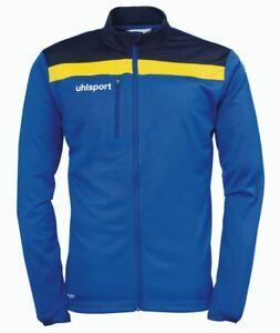 Uhlsport Sports Football Soccer Kids Boys Training Full Zip Jacket Tracksuit Top