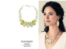 Necklace Woman Jade White Beautiful Chain Super Lovely Gift ST