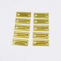 10 X Medal Ribbon Mounting Bars Brooch Pin Fixing 1 Space, for Medal Ribbon!!