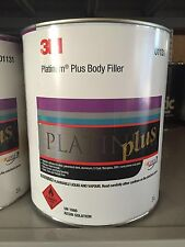 3M Platinum Plus Nikki/ Bog/ Filler 3LT 01131 with Hardener Tube.