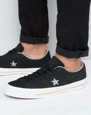 374ea7bc95d9eb Converse Cons One Star Nubuck Low Top Black White Men Casual Shoes 153717C  10