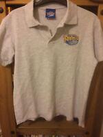 Leeds Rhinos - Grey Polo Shirt -  Medium