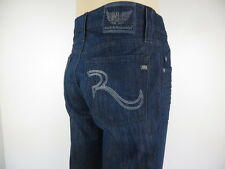 NWT ROCK  & REPUBLIC, Relaxed Straight Leg, Restaint Blue, Size 38,