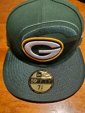 GREEN BAY PACKERS NEW  ERA NFL 2016 59FIFTY SIDELINE FITTED CAP HAT SIZE 7 1/4