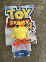 Disney Pixar Toy Story 4 Posable Ducky figure birthday Gift rare