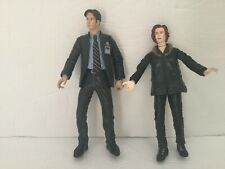 McFarlane Toys The X-Files Fox Mulder & Dana Scully Action Figure  Set 1998