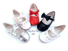 New baby toddler girls Mary Jane Dress shoes size 1-6