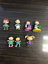 Rugrats figures bundle, includes 2xTommy, Chuckie, Angelica, Phil & Lil And Dill