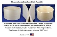 "Keller Magnum Prototype Series Drum Shell 24"" x 22"" (dia) 5 Ply"