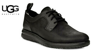 UGG Union Derby Weather Shoe Mens Sz 13 Black Waterproof Leather NEW Without Box