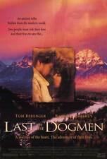 LAST OF THE DOGMEN Movie POSTER 27x40 Tom Berenger Barbara Hershey Kurtwood