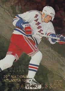 1998-99 Be A Player National Atlanta Gold #93 Ulf Samuelsson