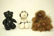 Coach Star Wars X Chewbacca, Princess Leia, and Darth Vader Bear Bag Charm Set