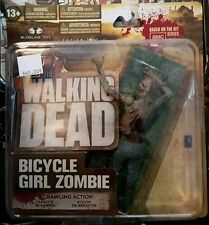 AMC The Walking Dead Series Two Figure Bicycle Girl Zombie Brand New McFarlane