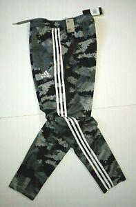 Adidas Tiro 19 Carbon Gray Camo Climacool Training Pants FK4493 Men's SZ LARGE