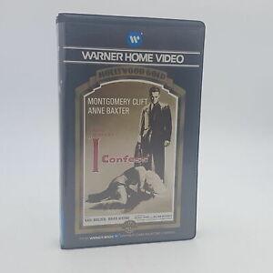 Alfred Hitchcock's I CONFESS Pre-Cert Ex-Rental Betamax Video (1983) Warner