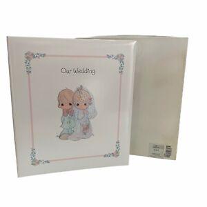"Vintage Precious Moments ""Our Wedding"" Hallmark Photo Album1994 New In Open Box"