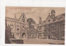Sidney Sussex College Cambridge Vintage Postcard 550a