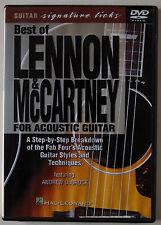 BEST OF LENNON & McCARTNEY FOR ACOUSTIC GUITAR / STYLES & TECHNIQUES / R1