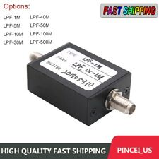 Lpf Rf Low Pass Filter Withsma Female Connector 50 1m 500mhz Optional