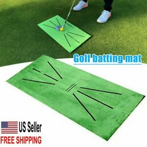 USA Accustrike Golf Training Mat Swing Detection Batting Golf Practice Training