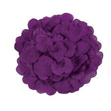 200 Purple ROSE PETALS Photo Props Wedding Decoration Flower Girl Fun 3/857
