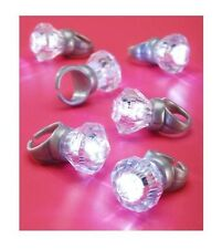 Bachelorette Party Light Up Engagement Ring 6 pack