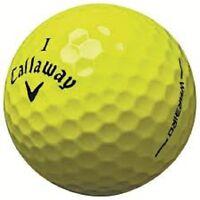 50 Near Mint Callaway Warbird Yellow Used Golf Balls AAAA