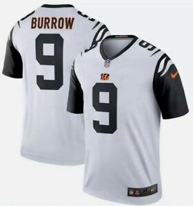 Cincinnati Bengals Joe Burrow #9 Nike Official NFL Color Rush Men's Jersey sz Lg