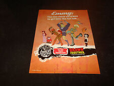 DRAWN TOGETHER 2005 Emmy ad Captain Leslie Hero, Wooldoor, Toot, Ling-Ling Foxxy