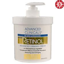 Retinol Professional Firming Cream Spa 16 oz Anti Age Face Skin Wrinkles Remover